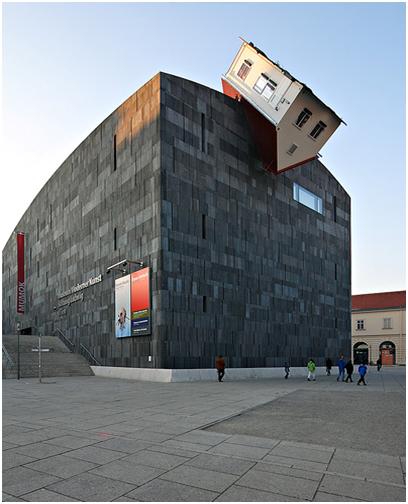 Erwin Wurm House Attack MAK Vienna 2006 The Critique Of Institution