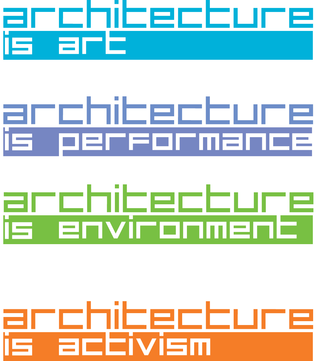 The Architecture is... series examines the multi-faceted, collaborative  nature of architecture as a discipline that intersects with other cultural  ...