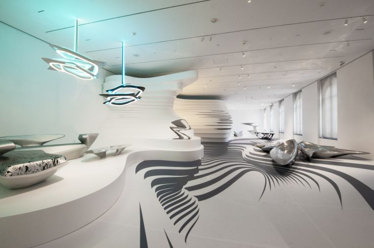 Graham foundation grantees philadelphia museum of art for Office design zaha hadid
