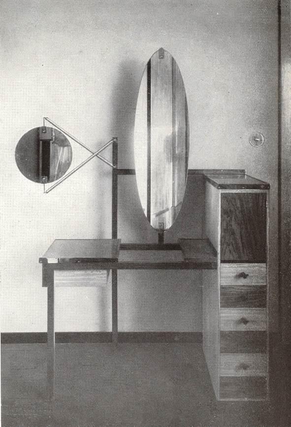 haus am horn marcel breuer dressing table 1923 hous weimar germany courtesy of ein versuchshaus des bauhaus in edited by adolf meyer munich kaufen bad meinberg belle
