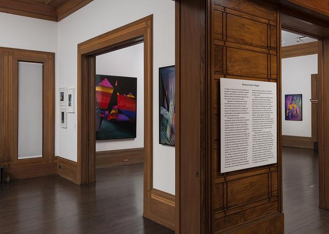 Graham Foundation Exhibitions Barbara Kasten Stages