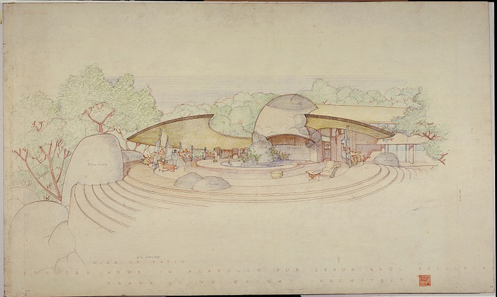frank lloyd wright unpacking the archive